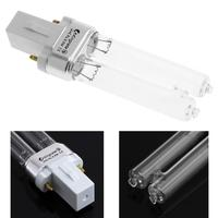 Tubo de luz esterilizadora UV 5W 34V 254nm acuario ultravioleta esterilizar bombilla de lámpara germicida para G23 / 2G7