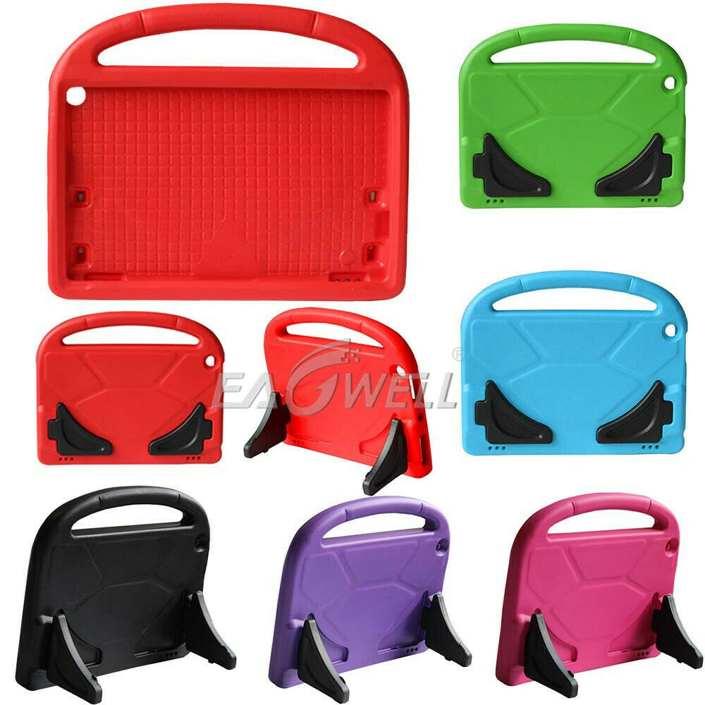 <font><b>Kid</b></font> Safe EVA Shockproof <font><b>Tablet</b></font> Cover For Amazon Kindle Fire HD10 2017 2019 <font><b>10.1</b></font> inch Protective Kickstand <font><b>Case</b></font> For Children image