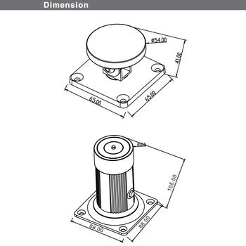 BLUMOTION w prowadniku, krzyżakowy (37/32), cynk, wysokość montażu: 25 mm, niklowany
