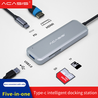 USB C HUB Type C to Multi USB 3.0 HUB HDMI Adapter Dock for MacBook Pro Huawei Mate 30 USB C 3.1 Splitter Port Type C HUB