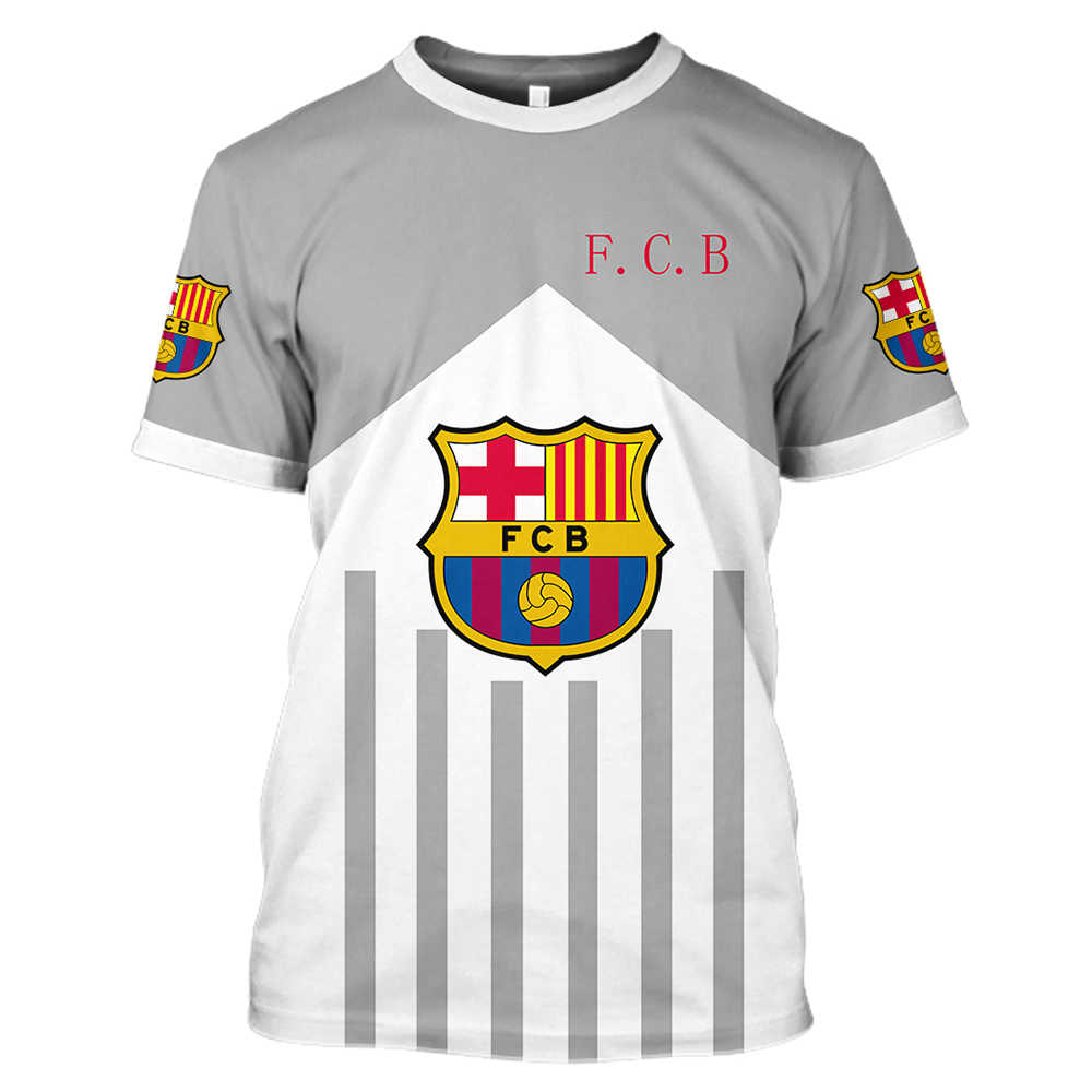 release date: 79b0b 08253 Barcelona Fc 2018 2019 Soccer Jersey Football 3d T Shirt Men ...