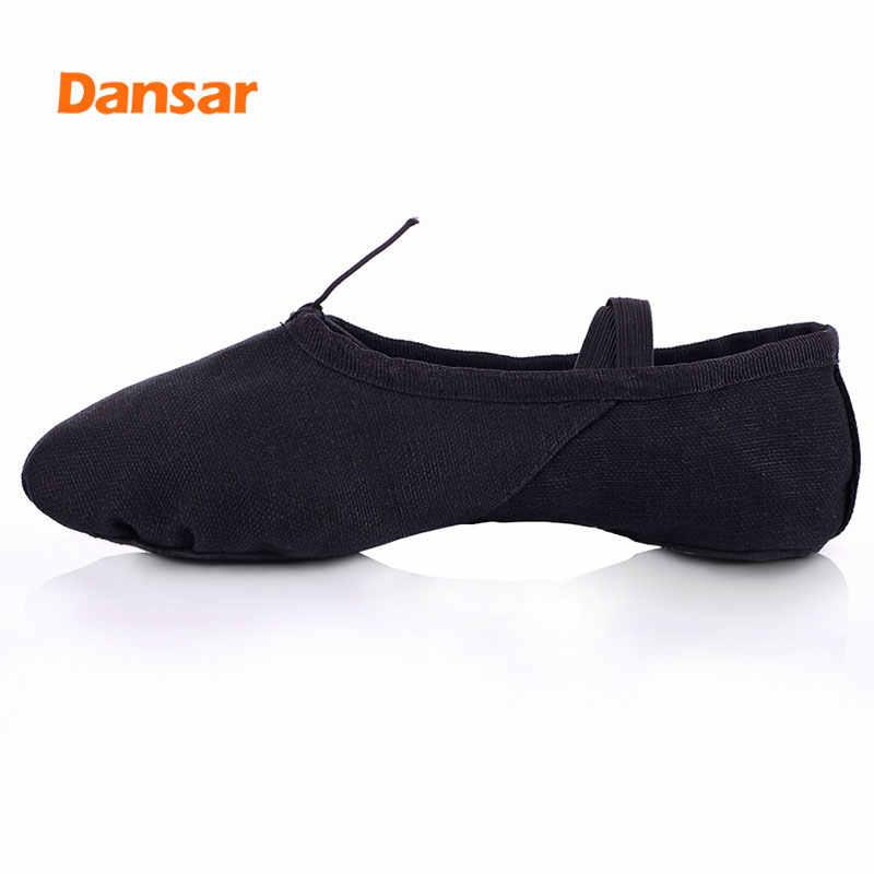 Pointe עבור נשים גברים בנות ילדי ילדים, נעלי בלט, נעלי יוגה, רך סוליות אימון נעלי חתול נעלי כפת