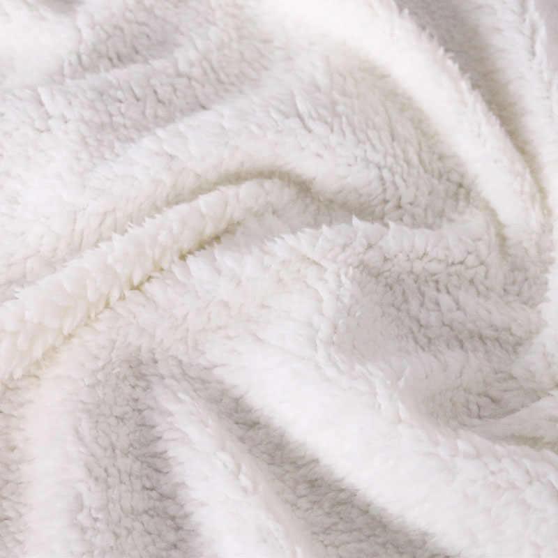 Nave di goccia 3D Stampa Personalizzata In Microfibra Sherpa Coperta con Manica Super Soft Caldo Tasca Esterna Con Cappuccio Per Adulti Con Cappuccio Coperta TV