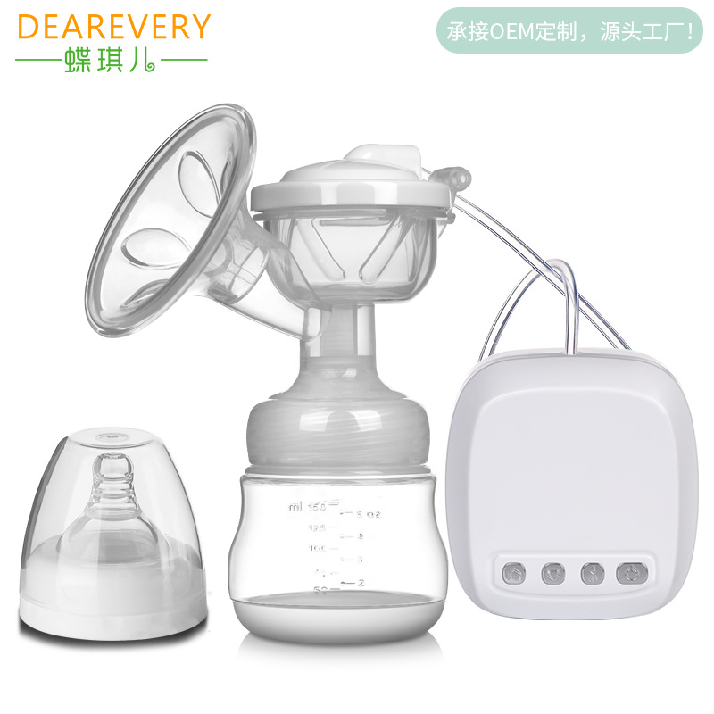 Butterfly Qi Electric Breast Pump Suction Large Automatic Milker Pregnancy And Birth Maternity After Milk Maker Prolactin Maker