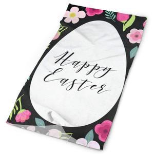 Opaska wesołych świąt wielkanocnych jaja kwiaty kwiatowy kolorowy szalik maska ocieplacz na szyję chusta na głowę opaska sportowe nakrycia głowy