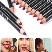 Cosmetic-Tools-Kit Pencil-Set Makeup Lip-Liner Matte Professional Waterproof Long-Lasting