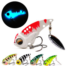 The Time brand Miracle MZ55 metal vib blade lure 55mm 13g sinking vibration baits artificial vibe for bass pike perch fishing(China)
