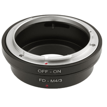 FD-M4 / 3 Lens Adapter For Canon FD for Micro 4/3 M4 Camera EP2 EP3 EPL1 EPL2 EPM1 EPM2 EM1 EM5 OMD GF1 GF3