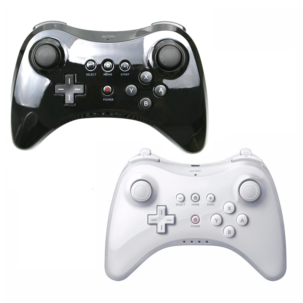 Для Nintend для Wii U Pro контроллер USB классический двойной аналоговый Bluetooth Беспроводной дистанционного пульта для Wii U Pro U геймпад