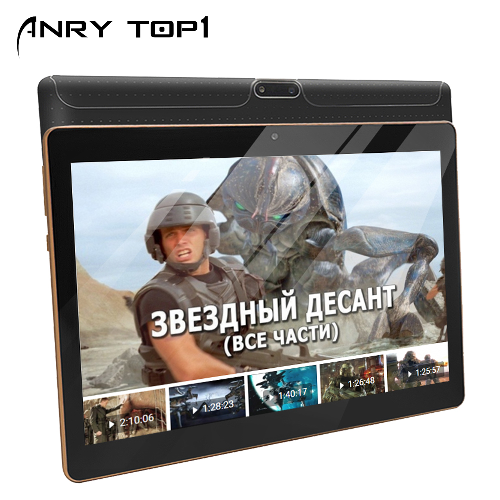 10.1 Inch Tablet 1280x800 Full HD Display Android 7.0 4GB +64GB Dual Cameral Real 5MP Bluetooth Wifi