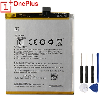 Original OnePlus Replacement Phone Battery BLP657 For 1+6 6 Genuine With Free Tools 3300mAh
