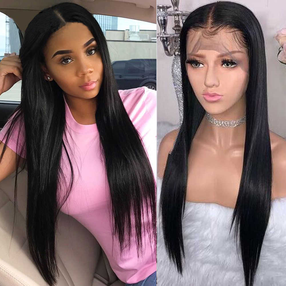 Lace Front Human Hair Wigs With Baby Hair Beaudiva Hair Pre Plucked Hairline 100% Human Hair Wigs  For Black Women