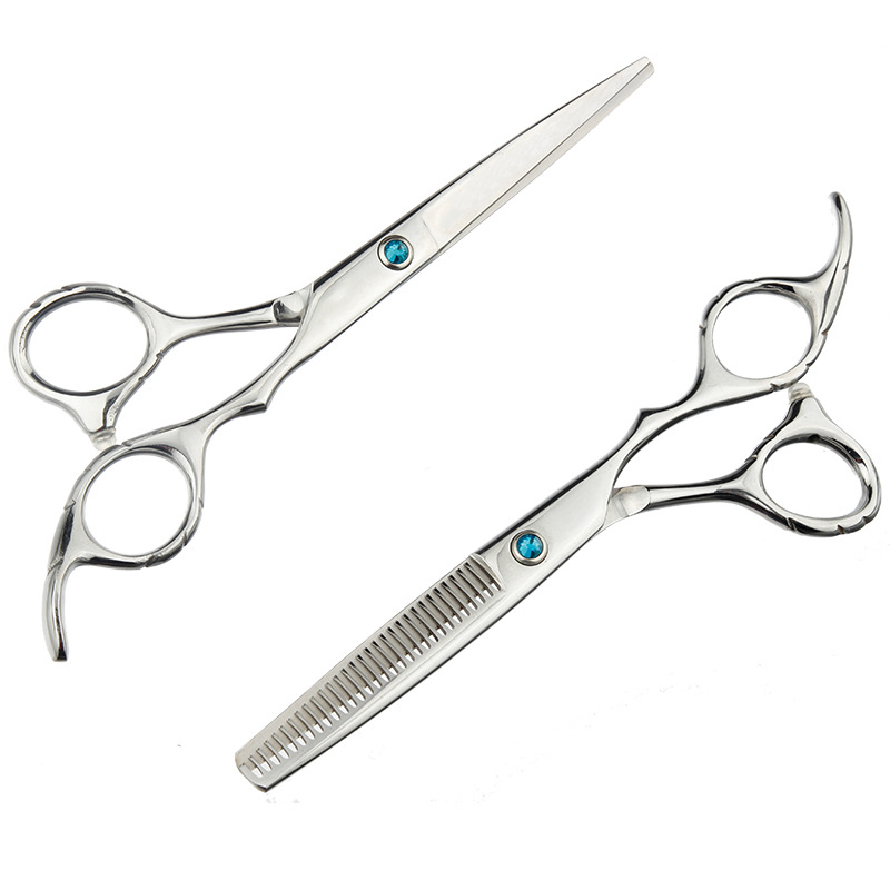 Manufacturers Direct Selling Profession Stainless Steel Hairdressing Straight Snips Bangs Thinning Scissors Chopped Hair Thinnin