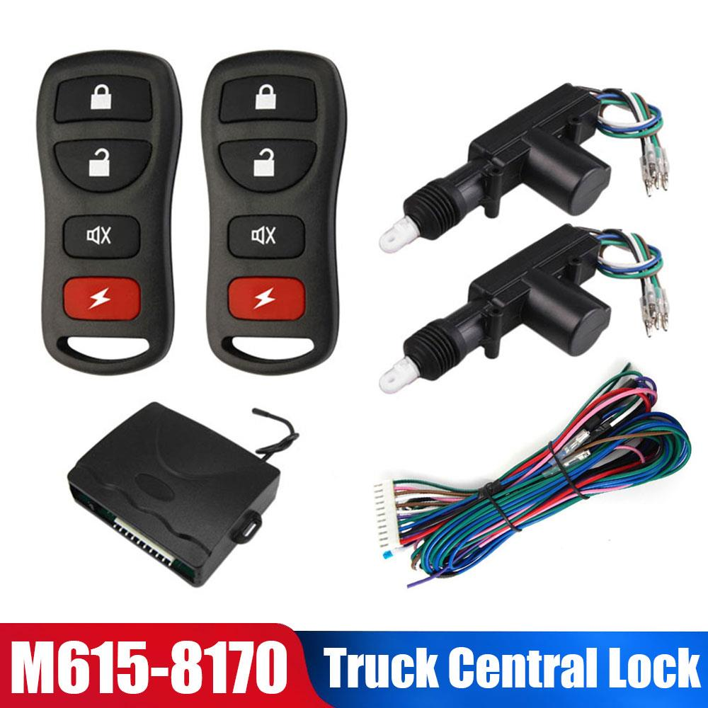 DC24V Door Lock Central Lock NEW Central Remote Truck Car Keyless Entry with Motor System Anti-Theft Device Vehicles 2020
