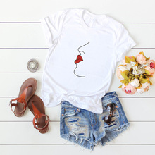 100% Cotton Summer T-Shirt  Women Tshirts Tops O-Neck Casual Female Tee Shirt Funny Tshirt New Arrival Woman Tees