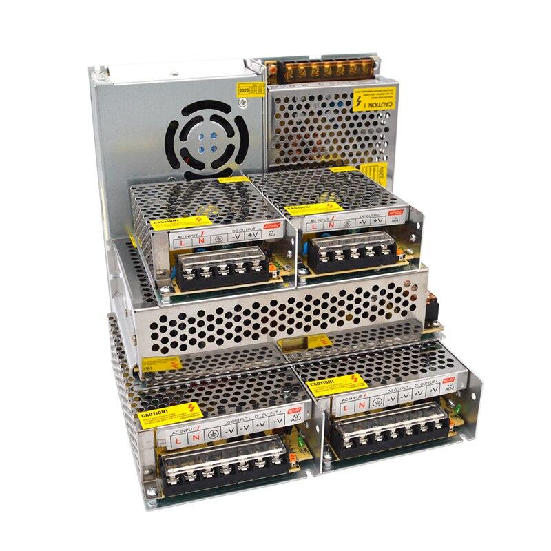 Przełączanie zasilania 220V do 9V 12V 15V 18V 24 V 36V zasilanie do taśmy LED AC DC Fonte 300W Adapter źródła 9 12 15 24 V Volt