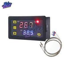 -60 -500 ℃ LED Digitale Temperatur Controller Meter K Typ Thermoelement M6 Sonde Sensor Embedded Thermostat AC 220V/DC 5V/12V/24V
