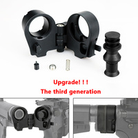 OLN Tactical AR Folding Stock Adapter Gen 3-M 30mm fit AR-15 ar15 AR10 M16 rifle 5.56 to .308 hunting rifle scope Accessories