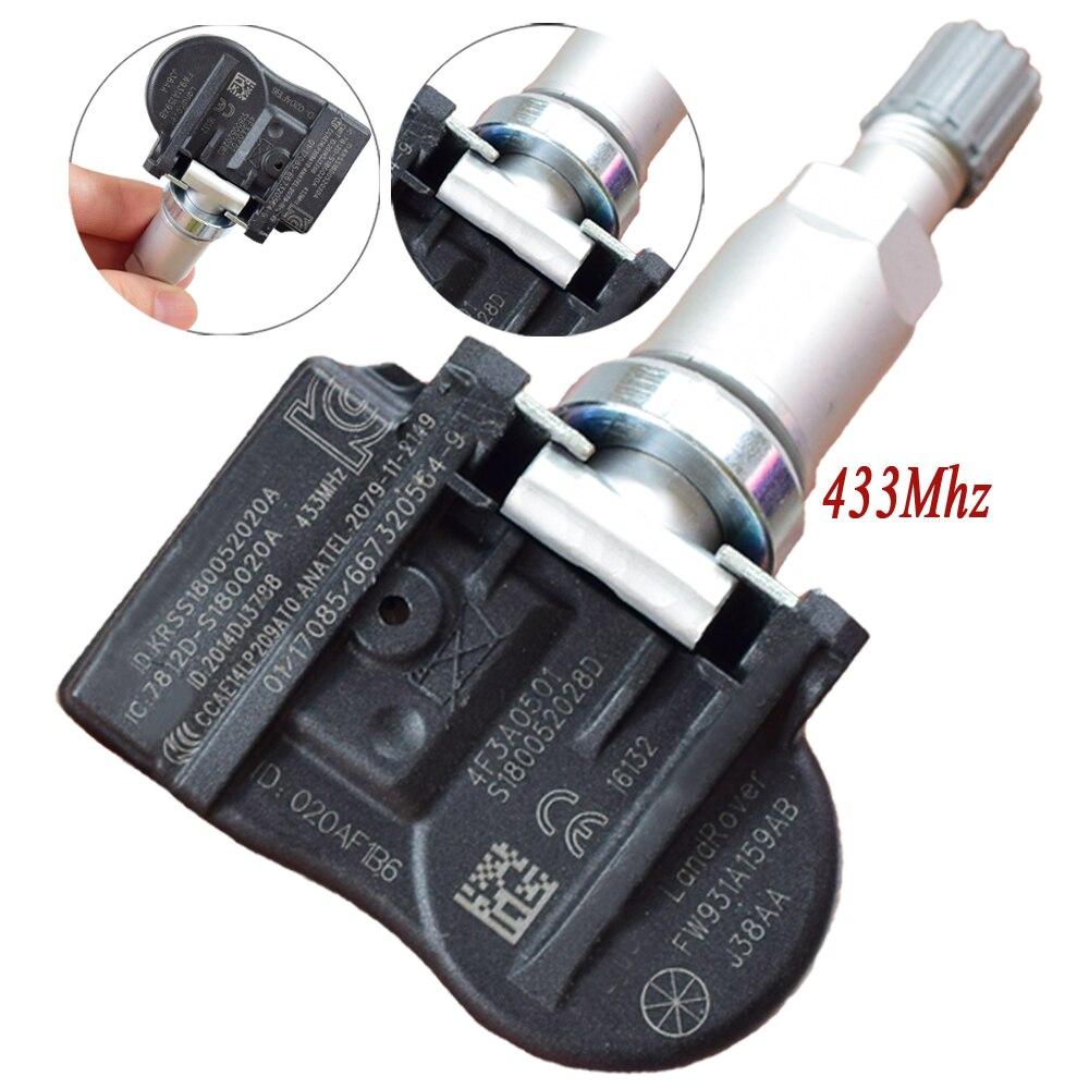 1Pcs 433Mhz Car Tire Pressure Monitoring System Sensor TPMS Sensor 9681102280 FW931A159AB For Citroen Land Rover Jaguar Peugeot