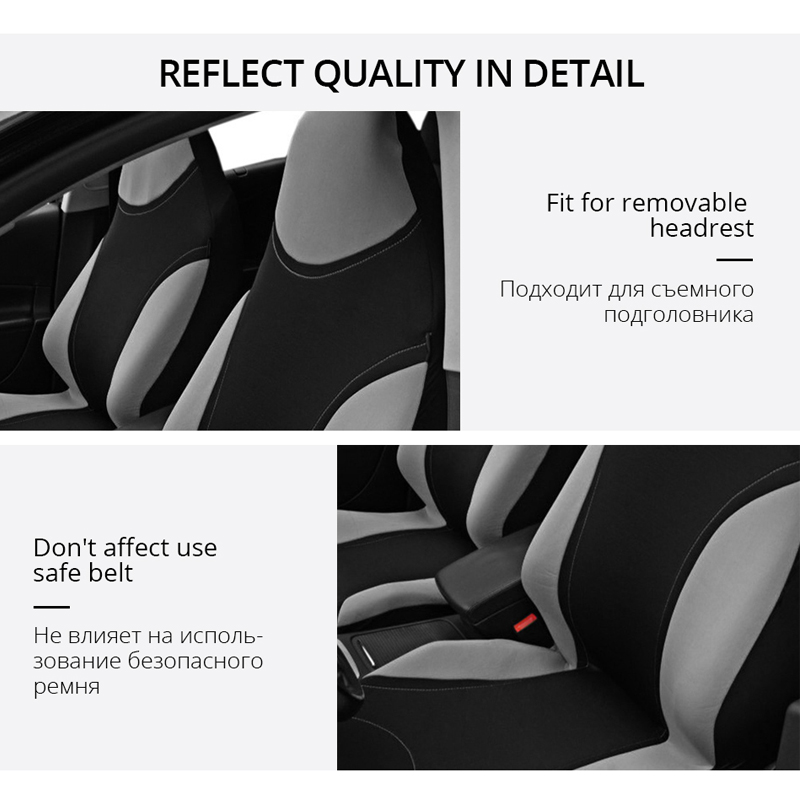 Image 3 - Seat Cover Supports High Back Bucket AUTOYOUTH Car Seat Cover Universal Fits Most Interior Accessories Seat Cover-in Automobiles Seat Covers from Automobiles & Motorcycles