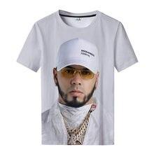 Singer Maluma 3D Printed T Shirts Men/women Summer Fashion Causal Streetwear Harajuku Short Sleeve Round Neck Tops