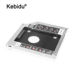 kebidu Aluminum HDD Caddy SATA 3.0 2nd 9.5mm SSD Case HDD Enclosure Optibay for Macbook Pro 13