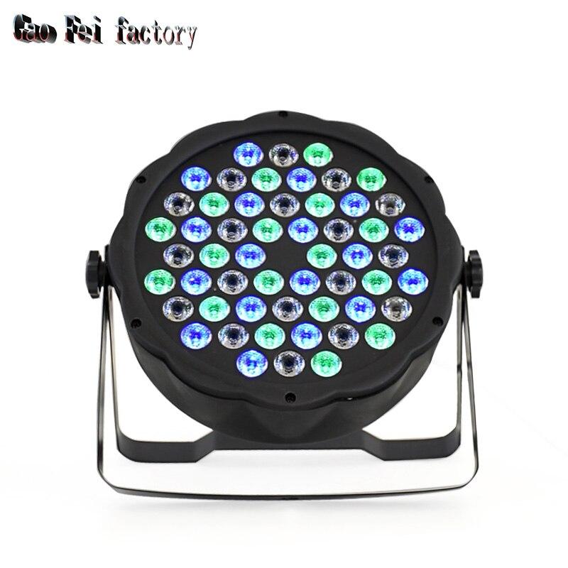 54 LED RGBW Mixing 8 DMX CH Led Par 15W Par Light Dj Light For Party