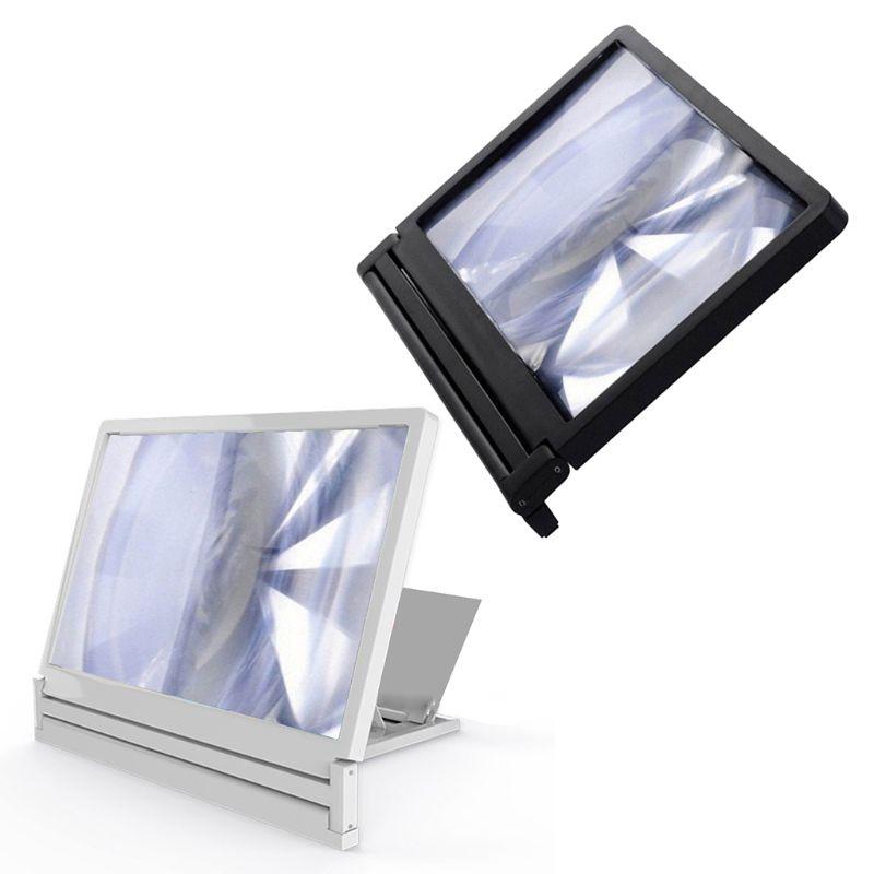 1Pc High Definition Screen Amplifier Cellphone Screen Magnifier Loop Bracket Stand New