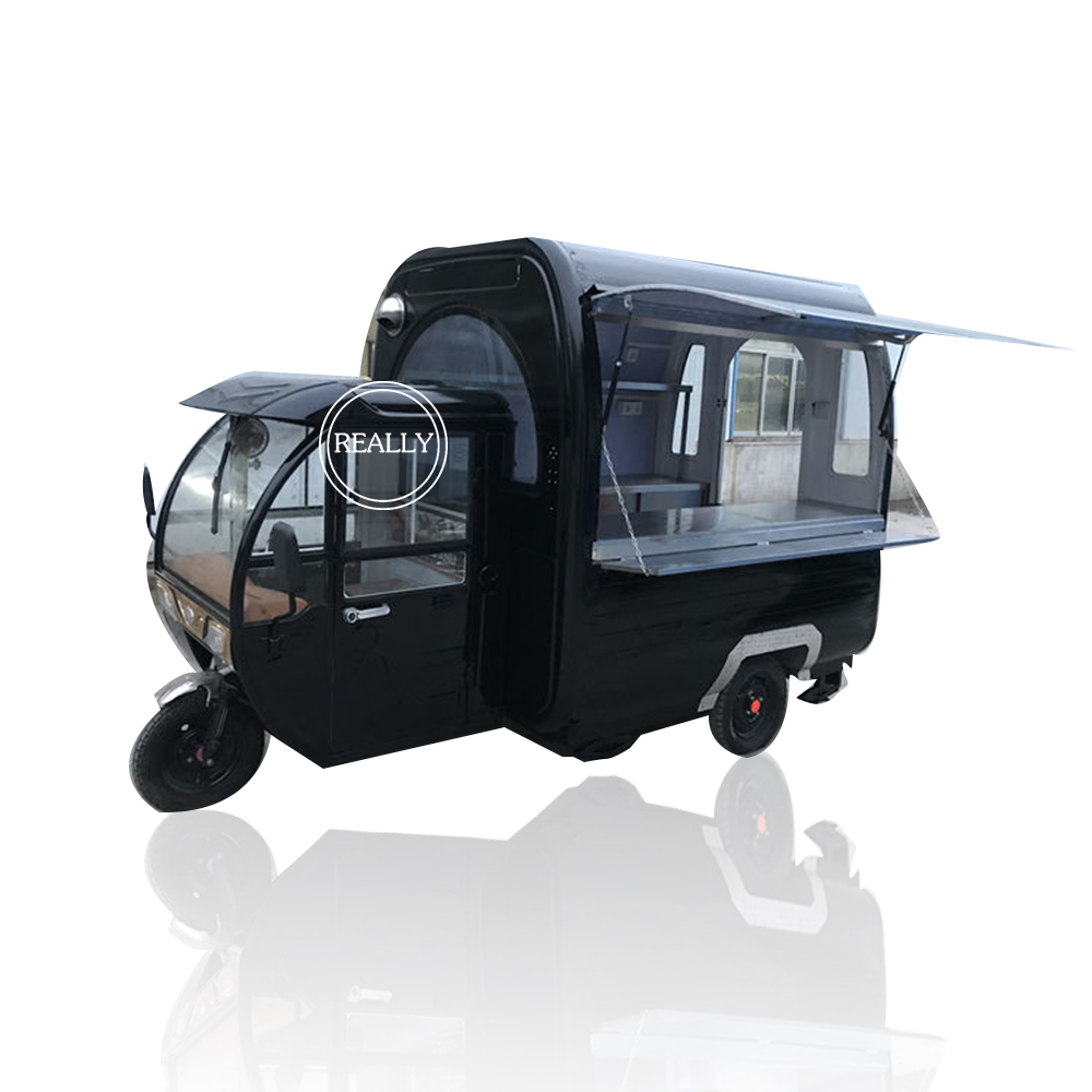 Hot-selling Can Be Customized Electric Food Cart Kitchen Food Truck Mobile Food Van In China