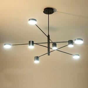Image 3 - Ресторанные потолочные светильники, лампа для гостиной, спальни, столовой, кухни, осветительные приборы, светодиодный потолочный светильник в скандинавском стиле