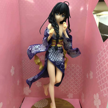 Anime My Teen Romantic Comedy Snafu Yukinoshita Yukino Bathrobe Ver PVC Action Figure Collectible Model doll toy 25cm 1pcs 16cm pvc japanese anime figure my teen romantic comedy snafu wave yukinoshita yukino swimsuit ver action figure