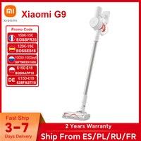 (code:EOSSES18 €120-€18 ) Xiaomi-aspiradora Mi G9 portátil, aspirador de polvo inalámbrico, limpiador de alfombras, 60 min de batería