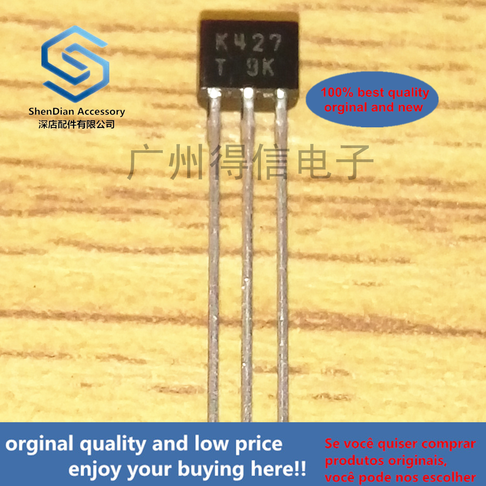 10pcs 100% Orginal New 2SK427T K427 TO-92S Real Photo