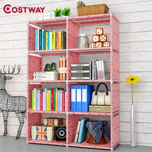 Costway本棚収納棚書籍子供ブックラック本棚ホーム家具boekenkast librero estanteria kitaplik