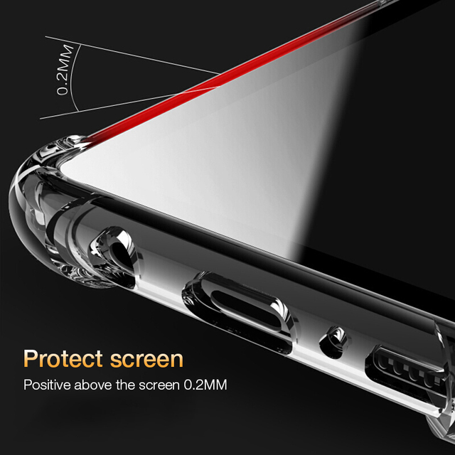 Shockproof Case for Samsung Galaxy S10 Plus lite S10e S20 FE S8 S9 plus S21 Silicone Phone Cases for Note 20 10 9 8 Back Cover 6