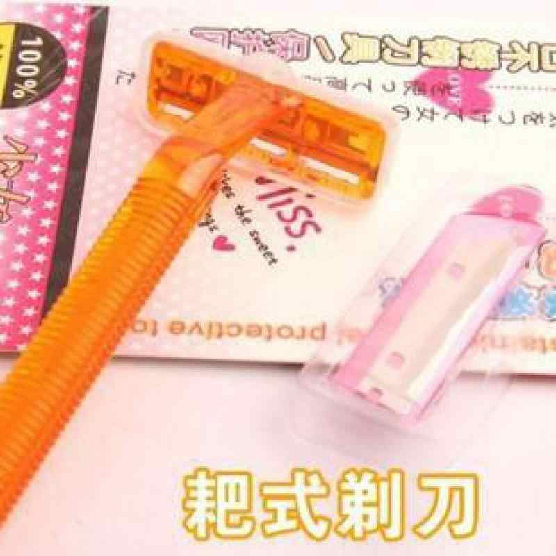 المرأة هارو نوع سبيكة 30 g فولاذ مقاوم للصدأ مغلف بالبلاستيك شفرة الدورية قوس الحلاقة سكين أدوات التجميل