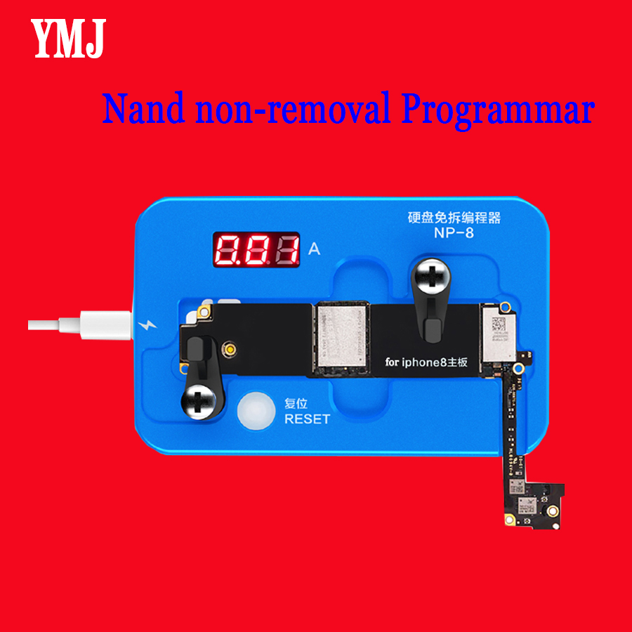 <font><b>JC</b></font> <font><b>NAND</b></font> Non-Removal Programmer HDD Free Disassembling Programmer for iPhone 7 7Plus 8 8Plus X XS XR XS MAX Repairing image