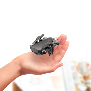LF606 Mini RC Foldable drone With 4K HD Camera Wifi FPV Selfie Helicopter Altitude Hold Quadcopter Profesional Drones Kids Toys 2 4g altitude hold hd camera quadcopter rc drone wifi fpv live helicopter hover 18apr29