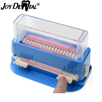 New dental micro applicator dispenser / dental cotton tip dispenser dental micro brush dispenser Microfiber Brush Dispenser фото