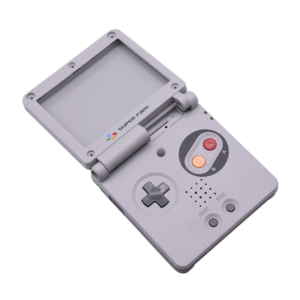 Limited Edition Replacement Housing Shell Faceplate Case Cover Repair Parts for Nintendo Gameboy Advance SP GBA SP Console
