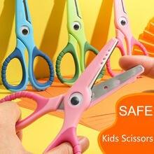 3 шт/лот пластиковые детские ножницы для резки цветов мини безопасные