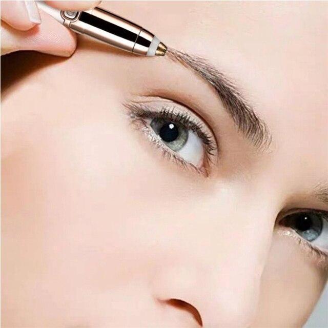 USB Electric Eye Brows Epilator Eyebrow Trimmer Mini Painless Eye Brow Epilator For Women Eyebrow Trimmer Mini Shaver Razors 5