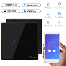 SONOFF T3 EU UK US Smart Wifi Wall Touch Switch With Border