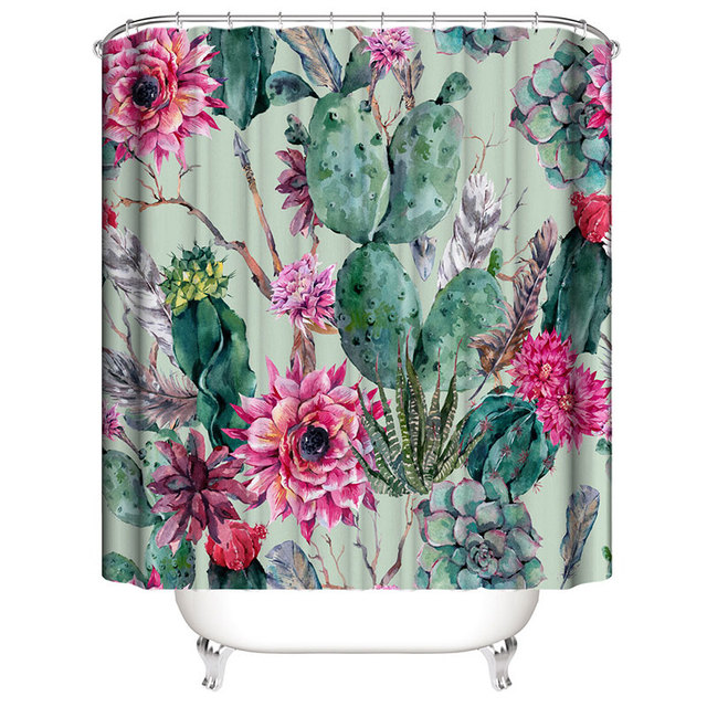 Shower Curtain 180cm 2