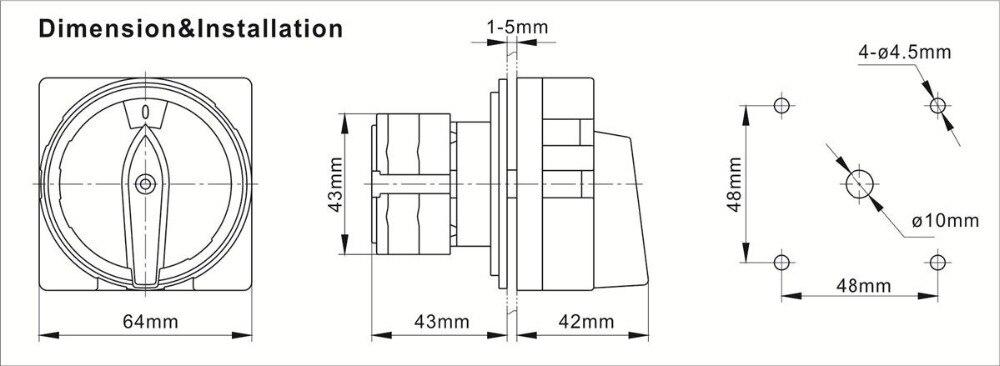 Cliquez sur CL019 Metal Clad 4 Gang 2 Way 10 Amp Interrupteur De Lumière /& Arrière Boîte industrielle