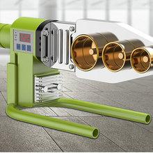 Цифровой патрубок термостата ac220в, сварочный аппарат для водопроводных труб, подходит для PPR/PE/PB материалов, многофункциональный опционально