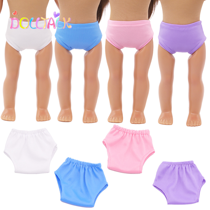 18 inch Mini Baby Born Clothes 43 Cm Accessories 1Pcs Underwear Socks 5 Colors For Russion Blyth Dolls For 1/3 BJD