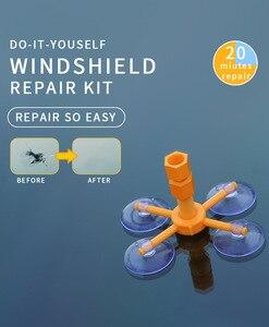 Image 3 - Venda quente kit de reparo do pára brisa janela do carro vidro risco crack restaurar ferramentas reparo da janela do carro tela polimento estilo do carro
