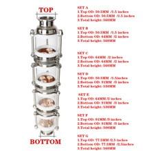 "copper bubble Distillation column with 4 sections for 1.5"" 3"" distiller Glass column Flute Distiller"