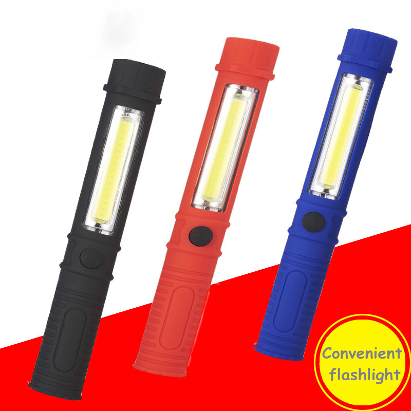 Work Inspection Light Mini Multifunctional COB LED Maintenance Light With Magnet Pen Light Outdoor Lighting Portable Flashlight